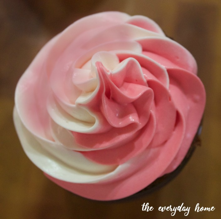 Iced Cupcake The Everyday Home