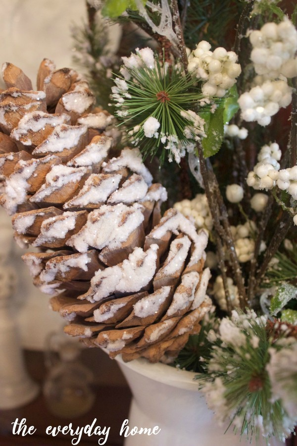 Icy Pinecones | The Everyday Home