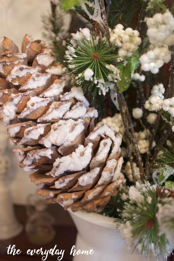 Icy Pinecones | The Everyday Home