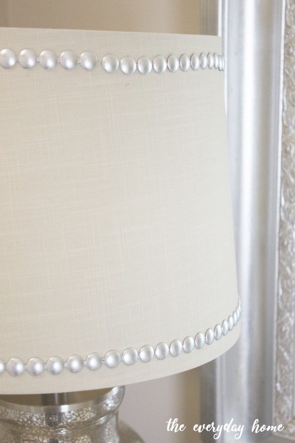 Lampshade with Nailhead Trim | The Everyday Home