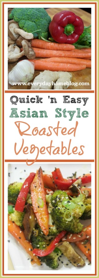 Quick & Easy Asian Roasted Vegetables | The Everyday Home