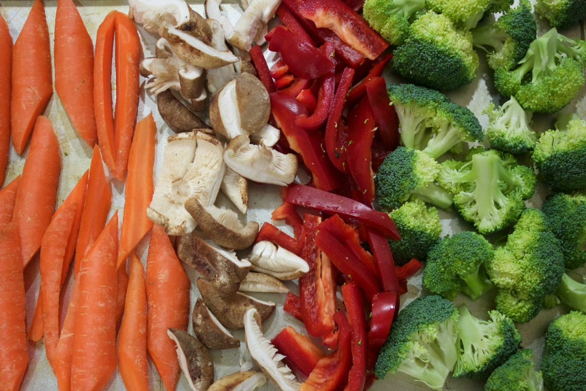 Sliced Vegetables | The Everyday Home