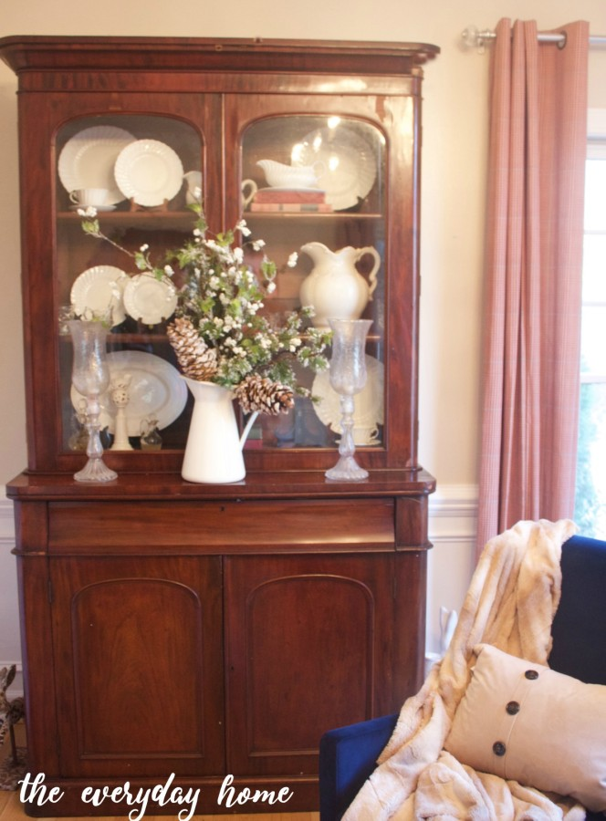 Winter English Hutch | The Everyday Home