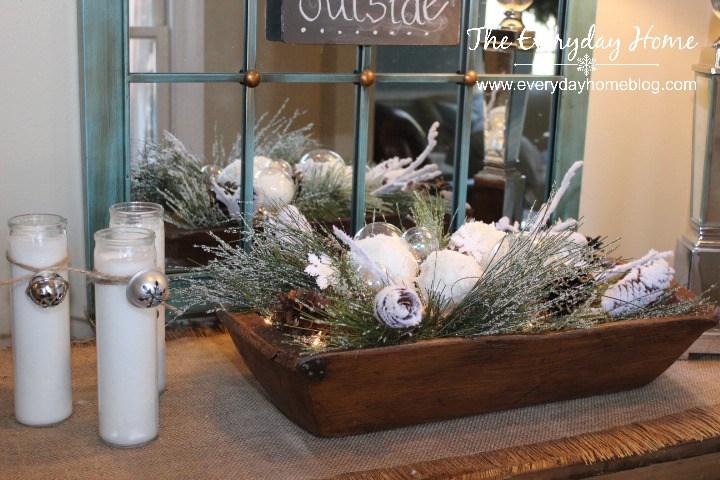 Winter Dough Bowl | The Everyday Home | www.everydayhomeblog.com