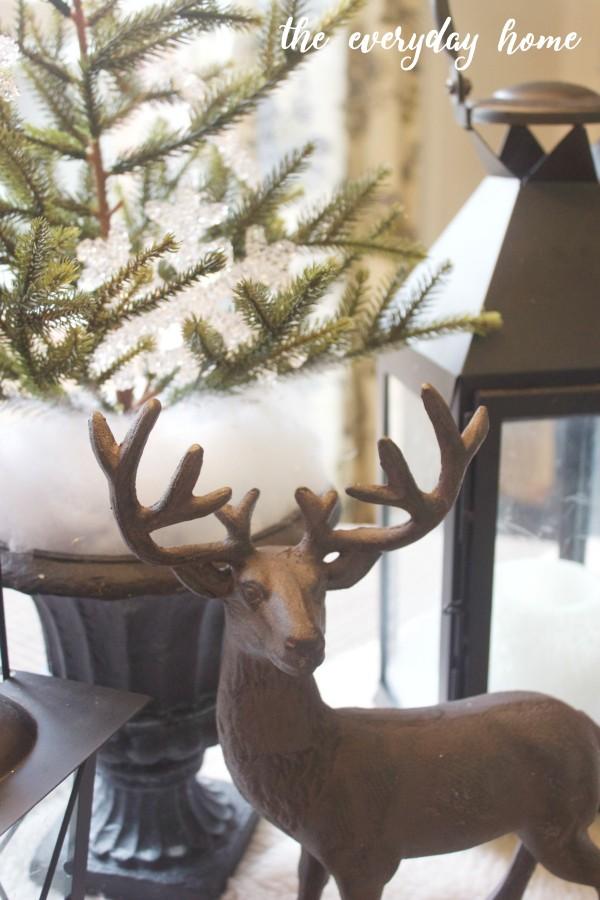 Winter Stag | The Everyday Home | www.everydayhomeblog.com