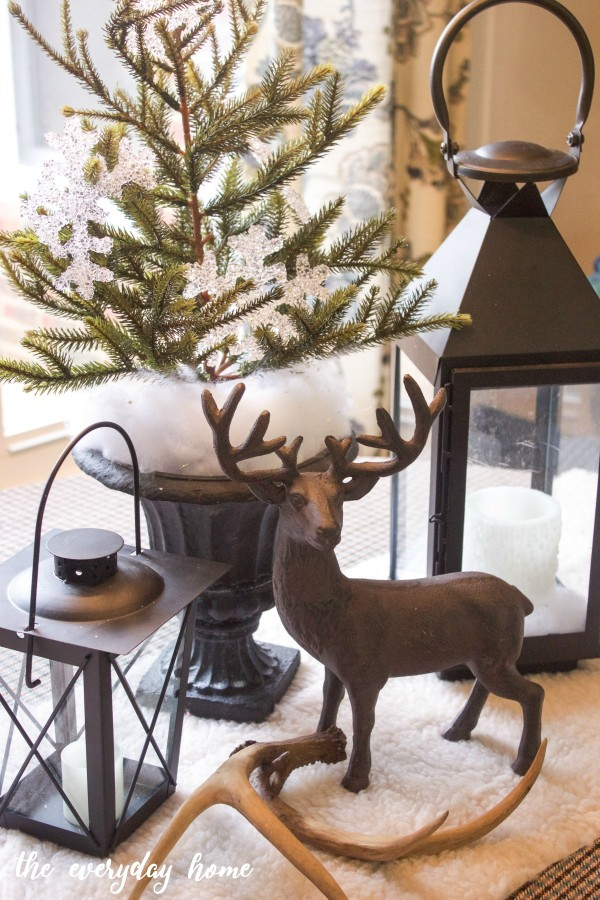 Winter Table Vignette | The Everyday Home