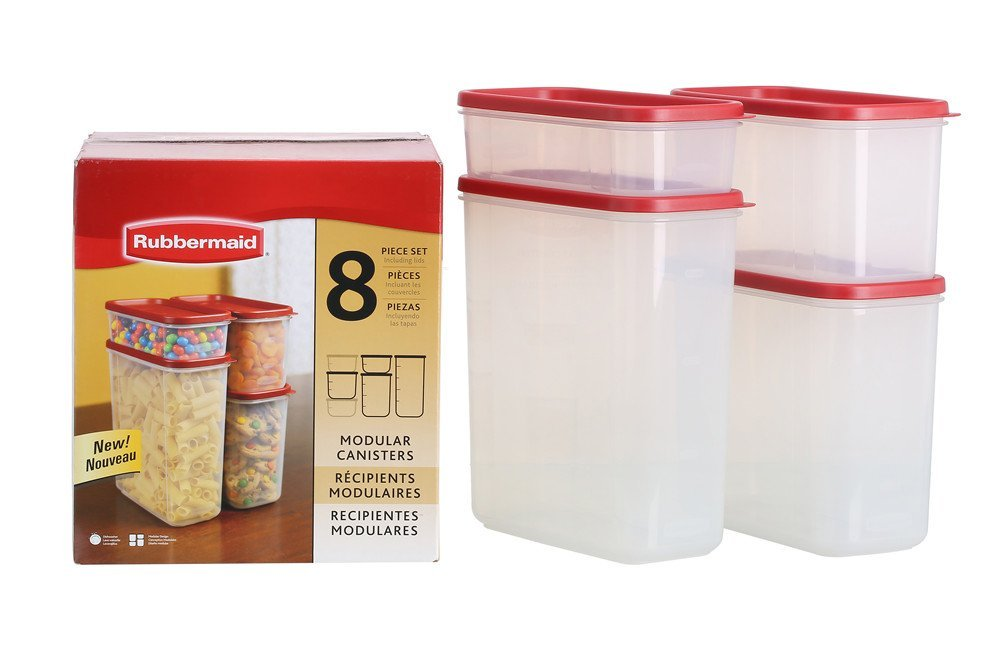 rubbermaid cannisters