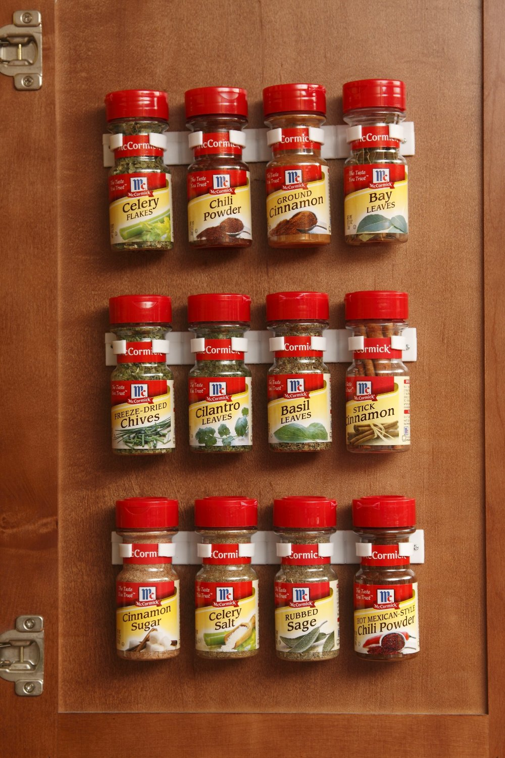 Spice and Medicine Bottle Organizing Strips