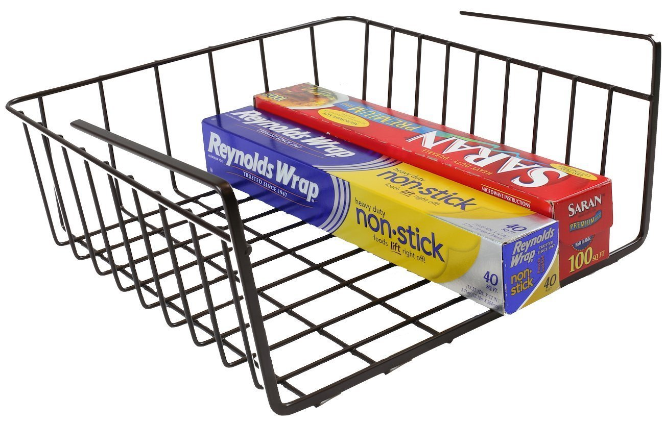 under shelf foil holder