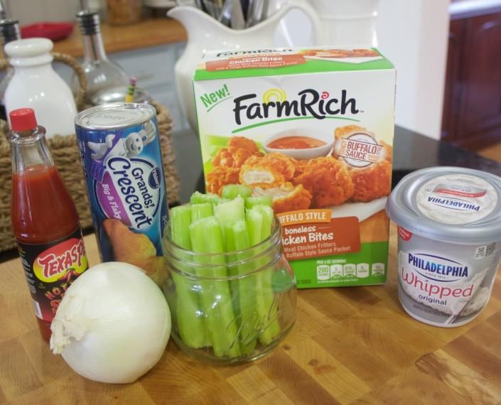 Buffalo Chicken Ingredients