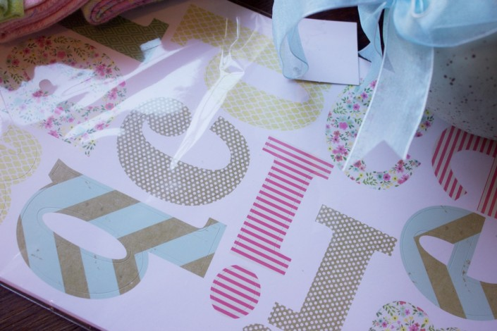 Craft Letter Stickers
