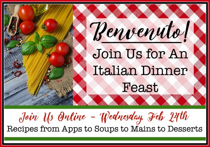 Italian Dinner Feast | Recipes From Apps to Desserts | The Everyday Home | www.everydayhomeblog.com