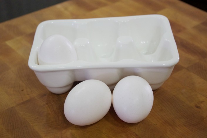 eggs and carton