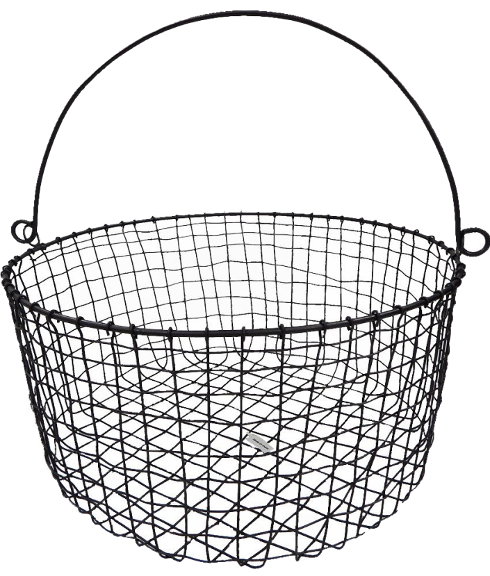 Wire Basket with Handle | The Everyday Home