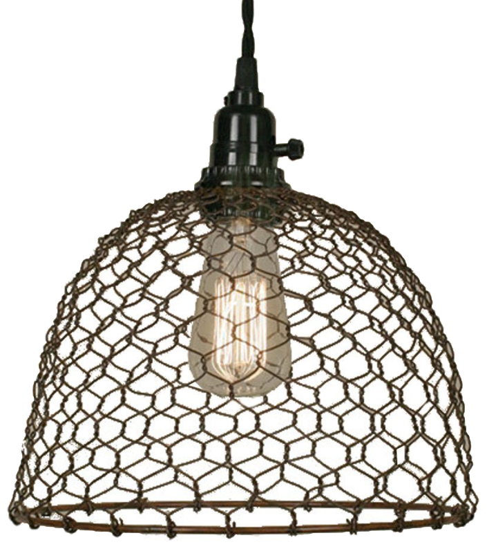 Wire Farmhouse Pendant Light | The Everyday Home