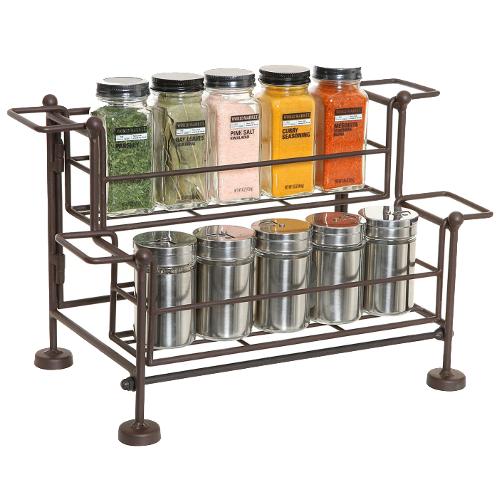 Wire Spice Rack | The Everyday Home