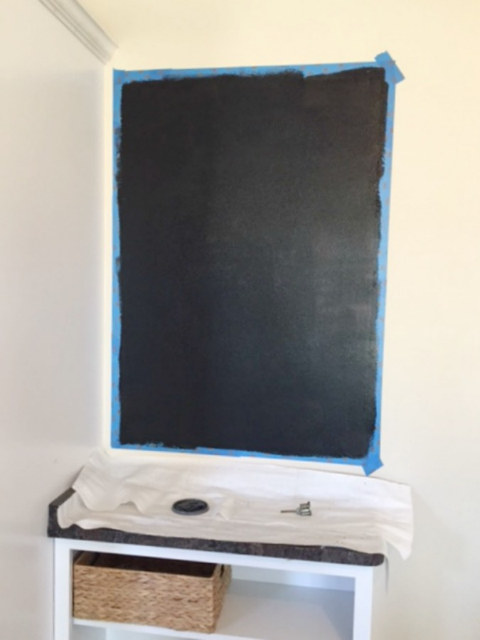 Chalkboard Paint Layer 1