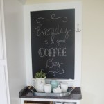 Make a Custom Chalkboard