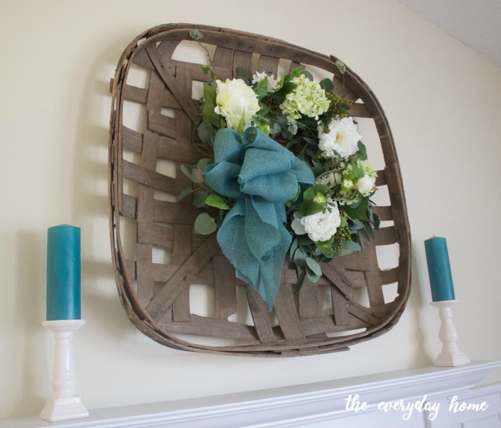 Creating a Spring Wreath | The Everyday Home