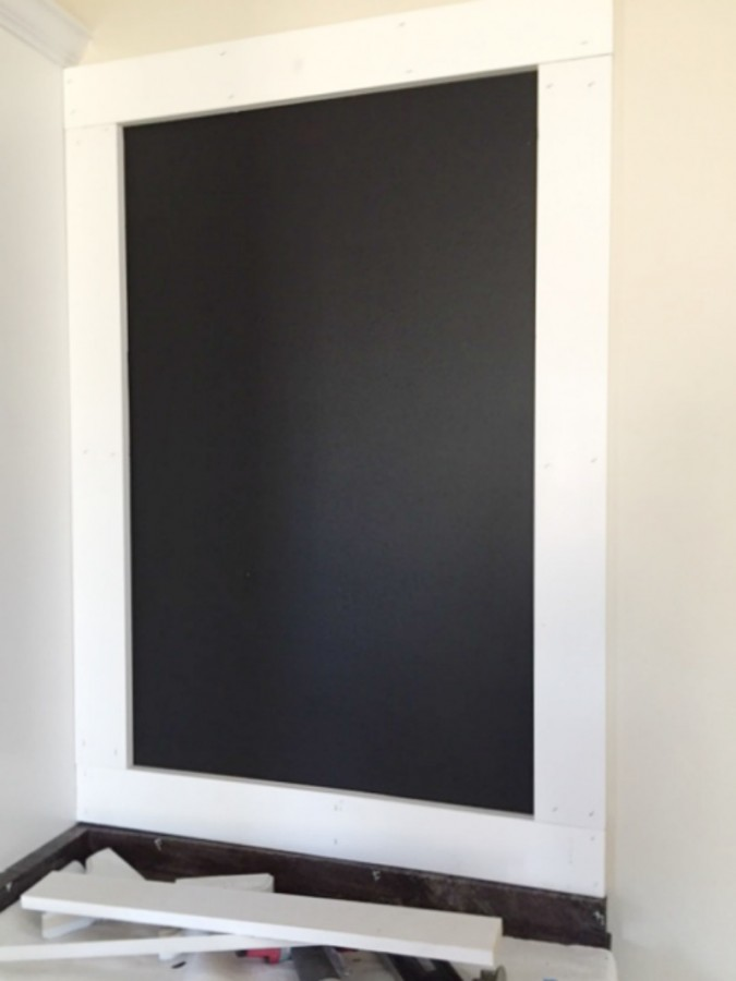 Custom Chalkboard Framed