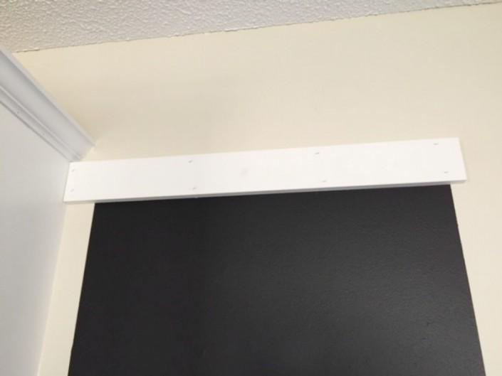 Custom Chalkboard Upper Frame Board