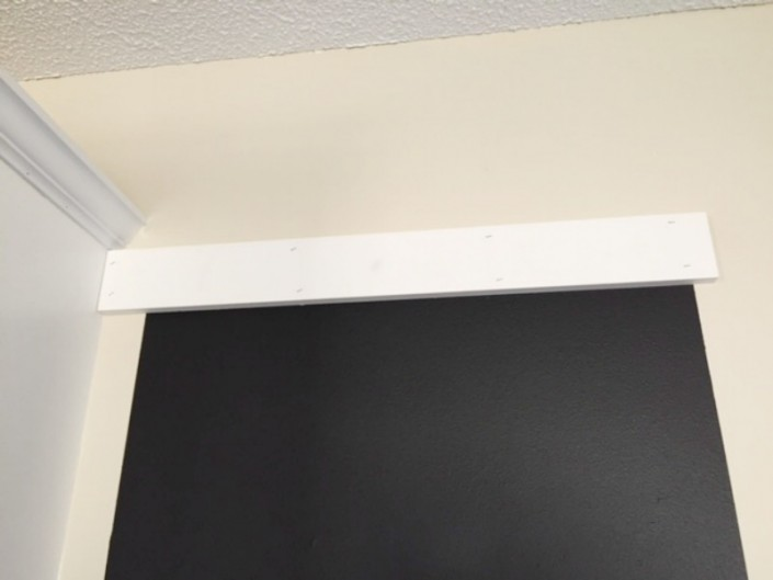 Custom Chalkboard Upper Frame Board