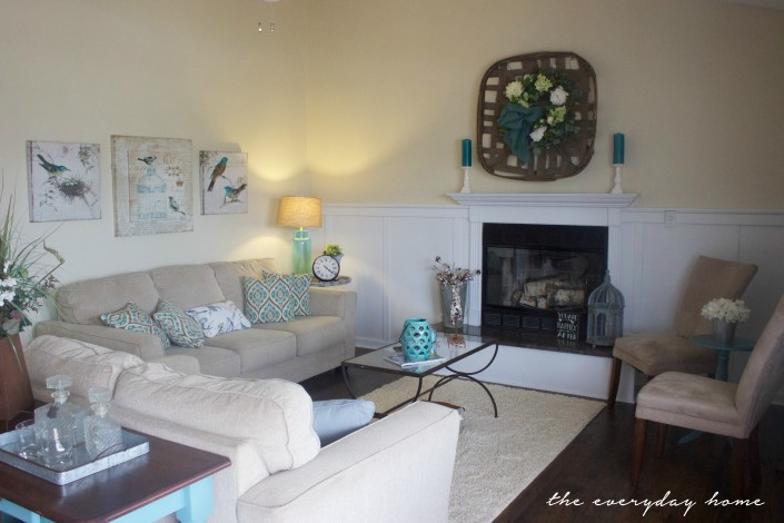 Flip House Living Room | The Everyday Home