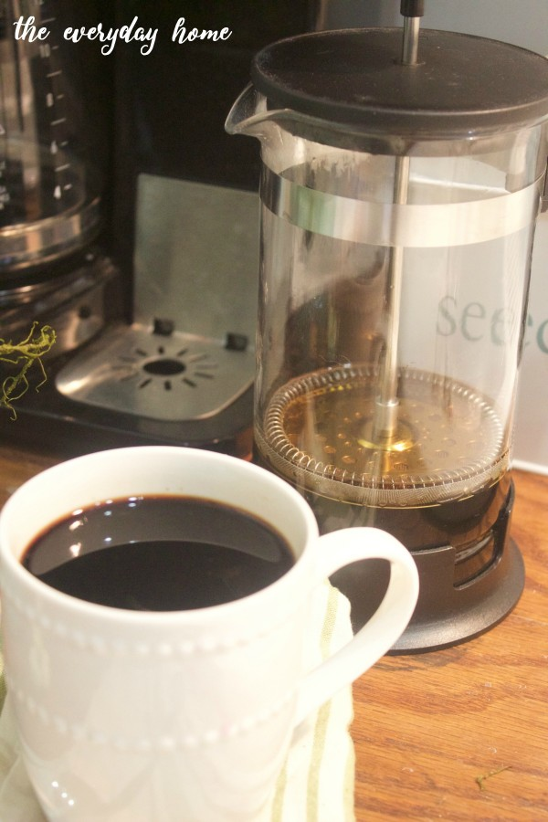 French Press Coffee |The Everyday Home