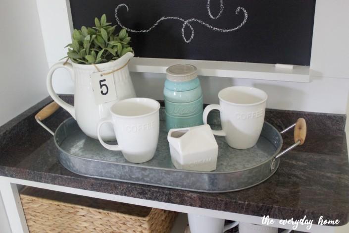 Granite Top Custom Cabinet   The Everyday Home   www.everydayhomeblog.com