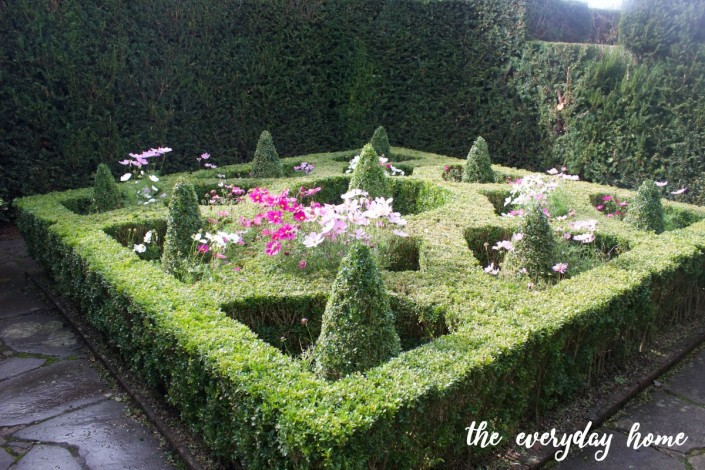 Hever Castle Boxwood Garden | The Everyday Home