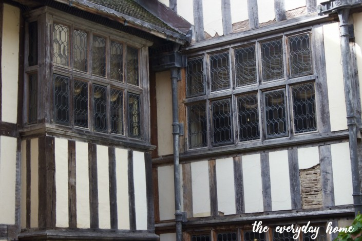 Hever Castle Courtyard Windows | The Everyday Home