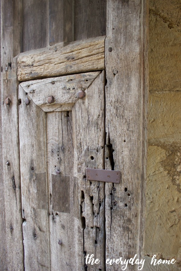 Hever Castle Door at Gate | The Everyday Home