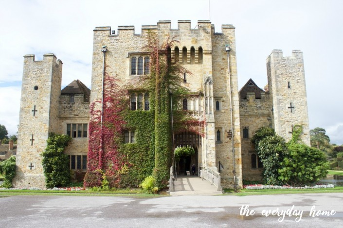 Hever Castle Front | The Everyday Home