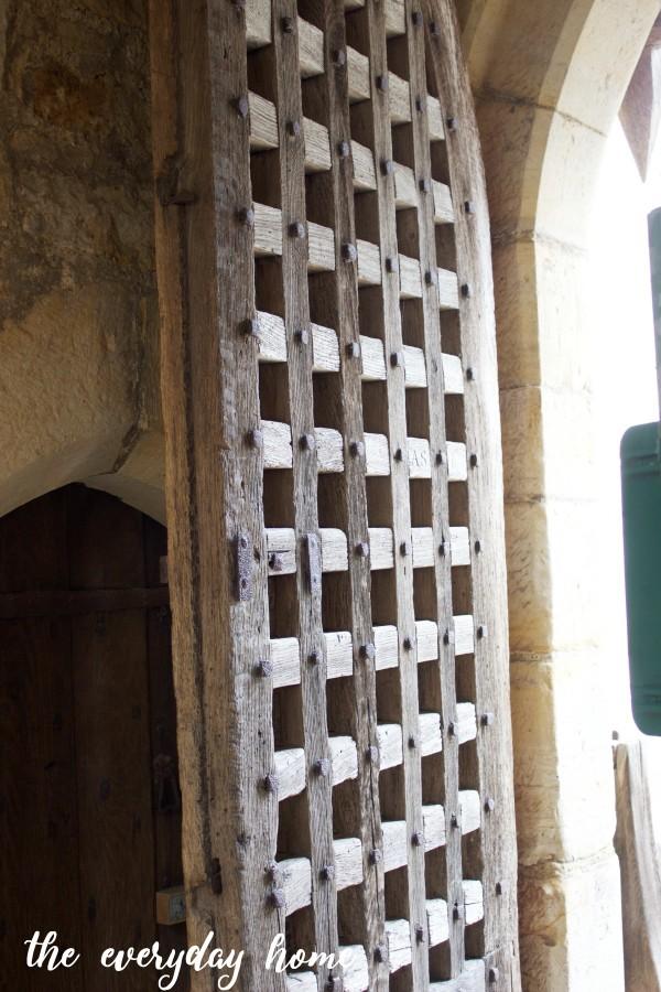 Hever Castle Gate Door   The Everyday Home
