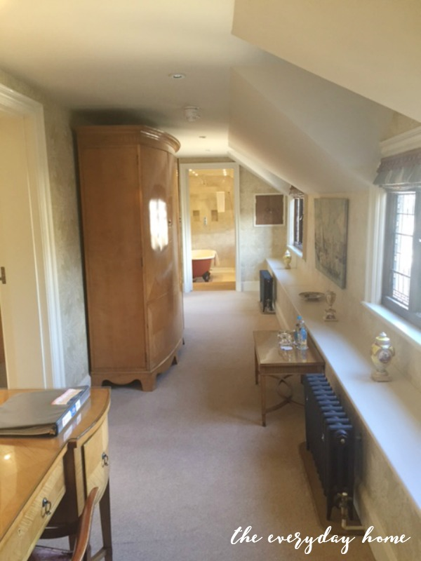 Hever Castle Inn | Bedroom Entrance | The Everyday Home