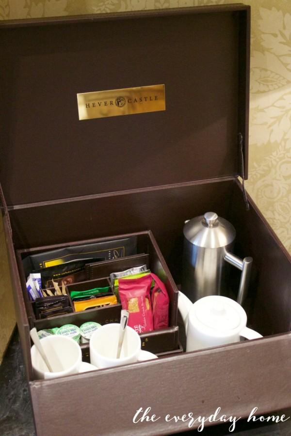 Hever Castle Inn | Coffee Tea Service | The Everyday Home