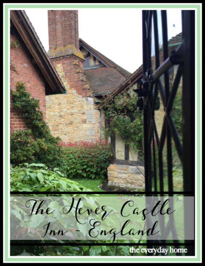 Tour of the Hever Castle Inn, England | The Everyday Home