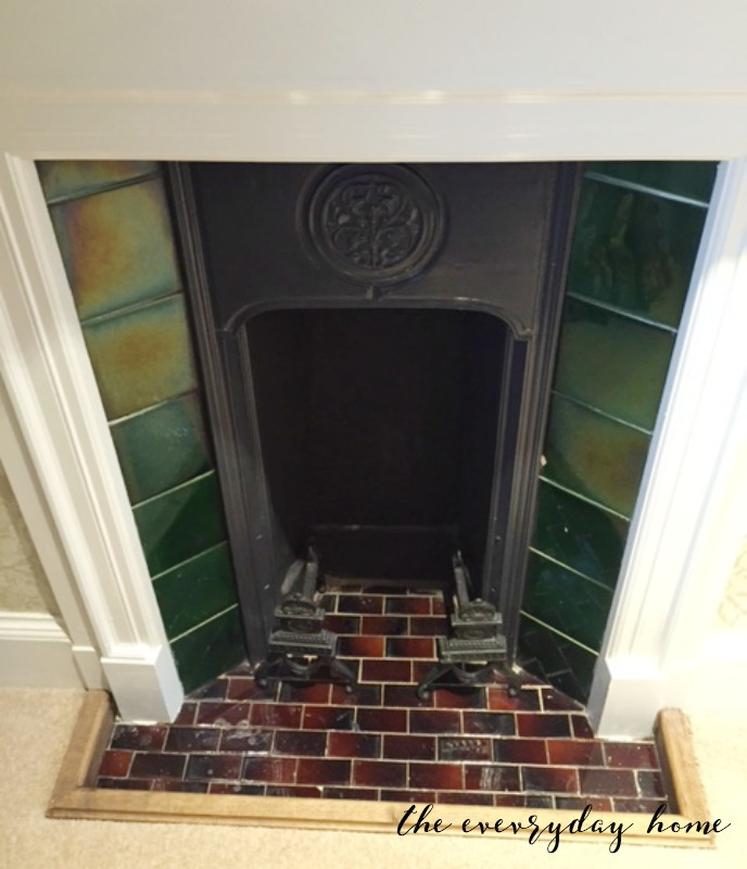 Hever Castle Inn | Mini Fireplace | The Everyday Home