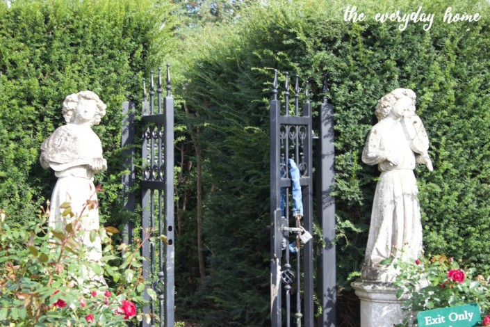 Hever Castle Secret Garden | The Everyday Home