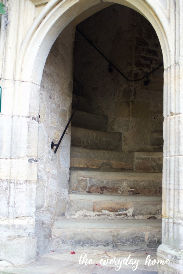 Hever Castle Stairway | The Everyday Home