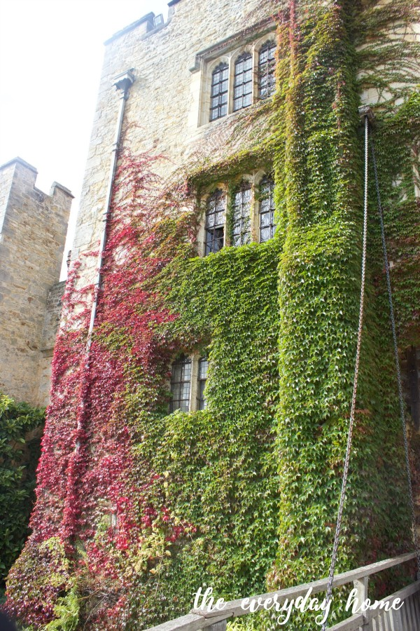 Hever Castle Turret Ivy | The Everyday Home