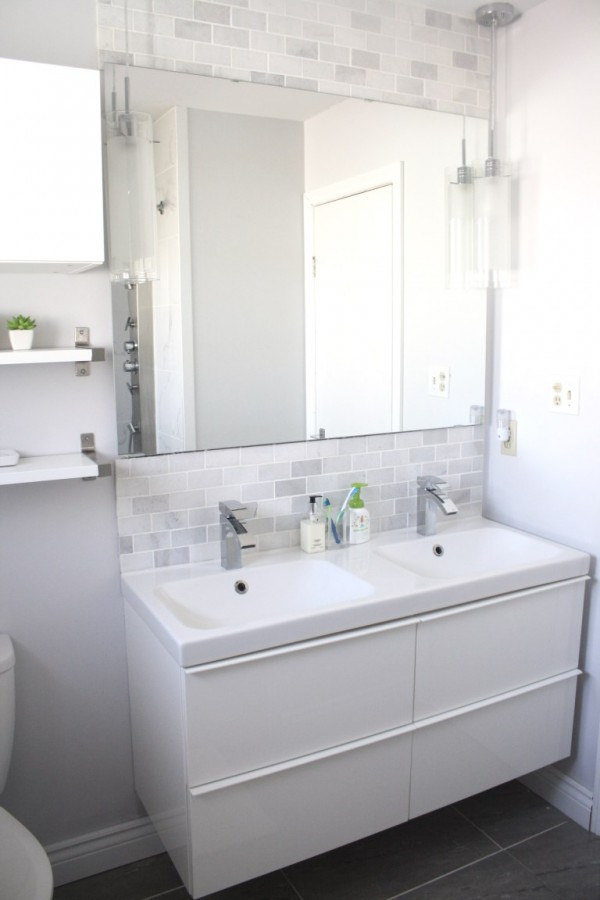 Share It One More Time #22 Epic Bathroom Makeover by Urbane Jane shared at www.onemoretimeevents.com