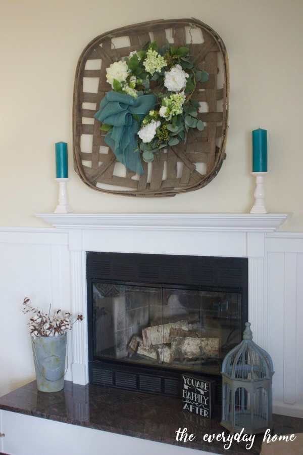 Making a Spring Wreath | The Everyday Home