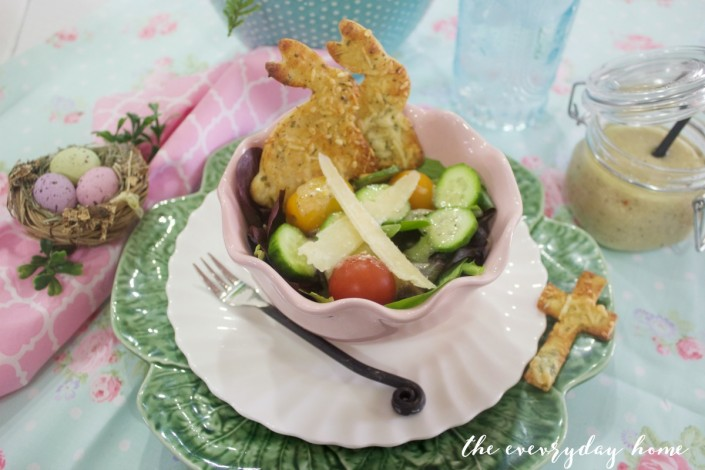 Parmesan-Rosemary Bunny Crackers | The Everyday Home | www.everydayhomeblog.com
