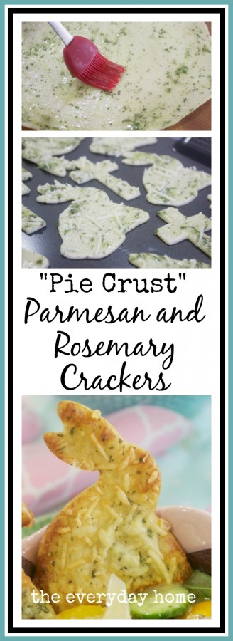 Pie Crust Bunny Crackers | The Everyday Home Blog |www.everydayhomeblog.com