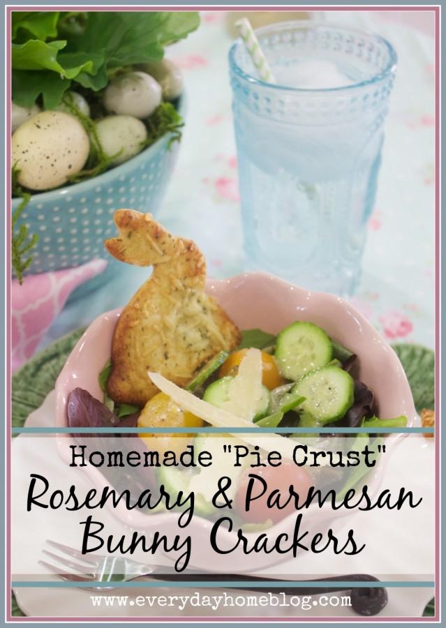 Pie Crust Crackers | The Everyday Home | www.everydayhomeblog.com