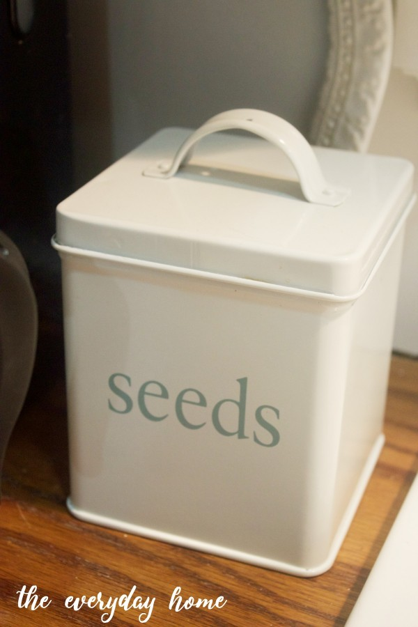 Seeds Tin | The Everyday Home