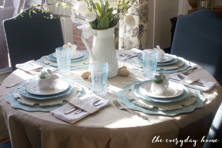 Spring Kitchen Tour | Easter Table Setting | The Everyday Home