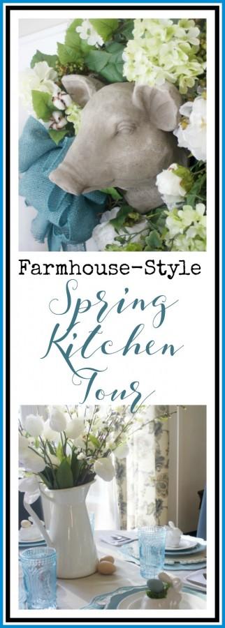 Spring Kitchen Tour | Farmhouse Style | The Everyday Home