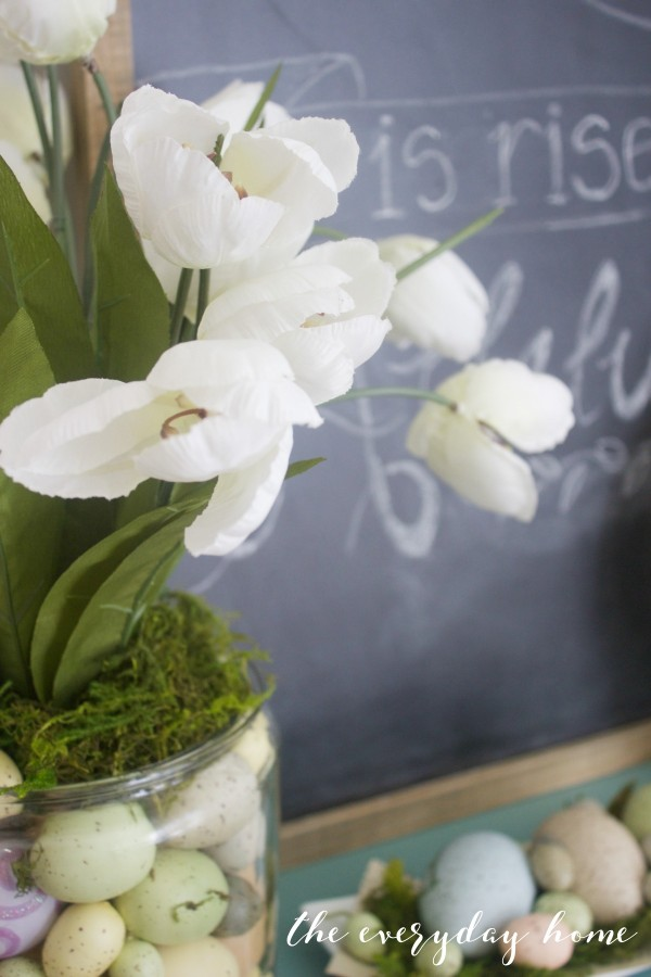 Spring Kitchen Tour | White Tulips | The Everyday Home